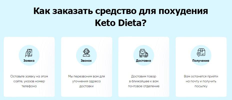как заказать средство для похудения кетодиета