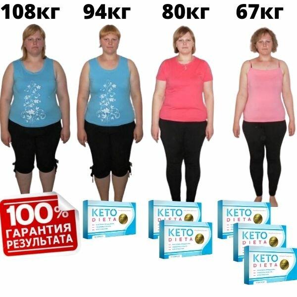 результаты похудения с таблетками кетодиета фото до и после